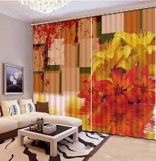 custom size curtains fashion customized custom any size curtains 3d printing fashion