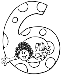 Small Picture Birthday Coloring Page A Girl Jumping Through a 6