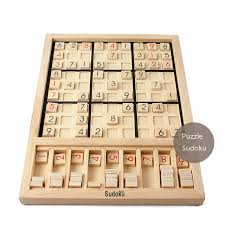 Wooden Math Games New Sudoku Cube Wooden Number Math Game Sticks Puzzle Sudoku For 9
