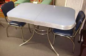 1950 chrome tables 1950s chrome table wchairs no leaf 1950 formica throughout 1950 kitchen table and chairs pertaining to encourage