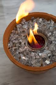 diy non toxic table top fire pits