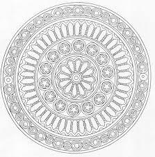 Mandala Coloring Page From Advanced Mandalas