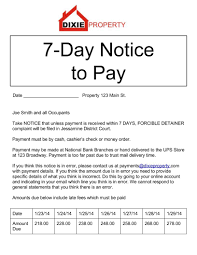 Printable Eviction Notice 24DayNoticetoPayjpg Eviction Form Legal Documents 8