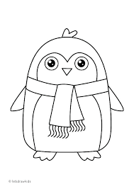 Cute Penguin Coloring Pages At Getdrawingscom Free For Personal