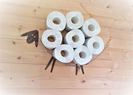 SHEEP-shelf - a wall shelf for storing toilet <b>paper rolls</b> (7-30 <b>rolls</b> ...