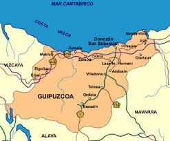 Resultado de imaxes para mapa pueblo oñate guipuzkoa