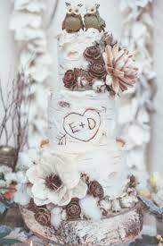 Best 25 Tree Wedding Cakes Ideas On Pinterest Wood Initials