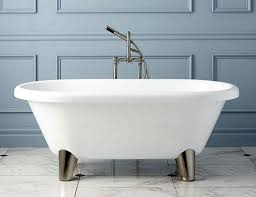 clawfoot tubs to fit your space and bud of bear claw bathtub for