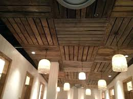 ceiling ideas for basement fabric low shower