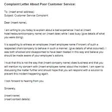 Letter To Discontinue Services 2 Complaint Letter To Service Provider Examples Pdf