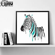 get ations zebra abstract paintings bedroom entrance decorative painting the living room minimalist dining room sofa background paintings