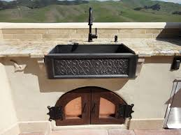 Outdoor Kitchen Sinks Kitchen Outdoor Sinks Ideas Of Concrete In Brilliant Ideas