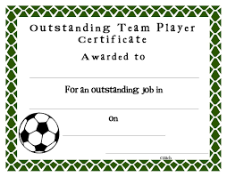soccer awards templates soccer award certificates template kiddo shelter crafts pinterest