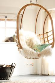 Swinging Chair For Bedroom Gorgeous Home Teenage Bedroom Decoration Present Winsome White