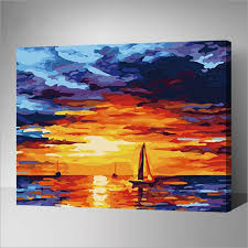 modern oil painting pictures acrylic paints by numbers digital painting on canvas wall art the art
