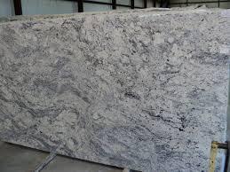 White Ice Granite Slab 581 and Close-up