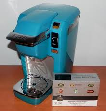 keurig mini aqua. Plain Mini Aqua Blue Keurig K10 MINI Plus Brewing System On Mini R
