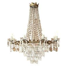antique crystal chandeliers new orleans glass light chandelier