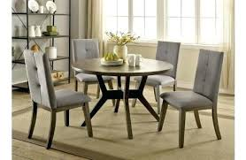 grey round dining table and chairs rustic grey round table set glass dining room table grey