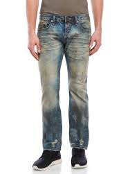 Cult Of Individuality Size Chart Cult Of Individuality Greaser Slim Straight Jeans Apparel