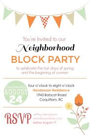Block Party Flyers Templates Block Party Flyer Template Summer Toyola