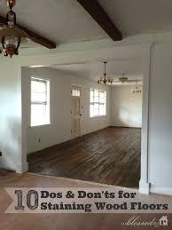 10 tips for staining wood floors myblessedlife net