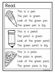 Download all our kindergarten reading comprehension worksheets for teachers, parents, and kids. Engelska Kindergarten Reading Worksheets Phonics Reading Reading Comprehension Kindergarten