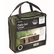 gardman premium rectangular patio set cover 8 10 seater green loading zoom