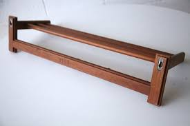 Danish Coat Rack Teak Danish 100s Coat Rack by Aksel Kjersgaard Cream and Chrome 13