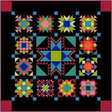 Amish Quilt Patterns Delectable An Amish Sampler Quilt For 48