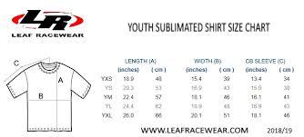 Yxs Size Chart Forms