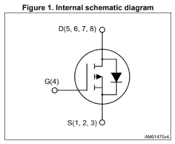 What Does A P Channel Mosfet Symbol With Body Connected To