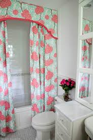 ... Marvelous Bathroom Decoration Ideas Using Bathroom Shower Curtain With  Valance : Radiant Bathroom Decoration Using Light ...