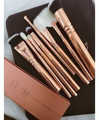 professional makeup brush set now high quality makeup tools kit violet now on aliexpress