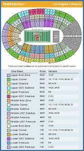 La Coliseum Seating Chart View Rfu Season Ticket Holder List Page 28 Rams Fans United