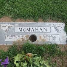 Bernice Burnette McMahan (1943-2014) - Find A Grave Memorial