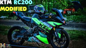 2018 ktm rc 200.  2018 best ever modified ktm rc 200  insane modifications must watch  motormine intended 2018 ktm rc d
