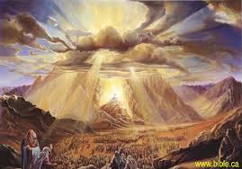 Image result for the glory of God as a great cloud, a pillar of fire , a burnish bush