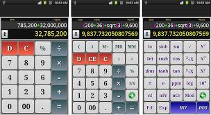 there are a lot of calculators for android you can get a separate simple calculator a scientific calculator or a statistics calculator but all of these