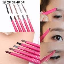 qoo10 waterproof dark brown eyebrow pencil eye brow liner powder makeup tool women s clothing