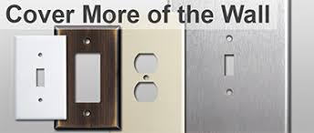 outlet and switch covers. Fine Covers Oversized Switch Plates U0026 Outlet Covers Intended And
