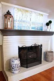what color should i paint my brick fireplace what color should i paint my brick fireplace