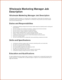 Marketing Rep Jobcription Templates Manager Sample Pdf Template Cv