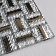 glass tile plated mosaic