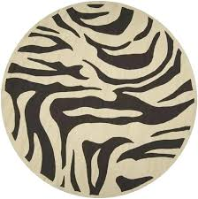 zebra print outdoor rug animal print rugs for living room hand hooked bliss indoor outdoor