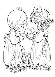 Precious Moments Christmas Coloring Pages Collection Free At Baby
