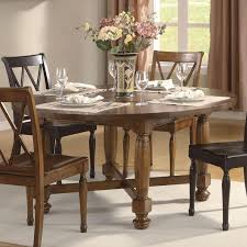 Round Pine Kitchen Table Riverside Delcastle Round Square Convert A Height Dining Table At
