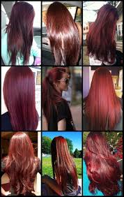 Cherry Coke Hair Color Absolutely Love