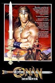 conan-le-destructeur-affiche_385581_18941.jpg (1000×1500)  https://www.mixturecloud.com/media/ixMrxYJ4   Conan the destroyer, Conan  the barbarian, Conan movie