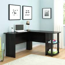 large computer desk ikea l shaped target modern with drawers white glass